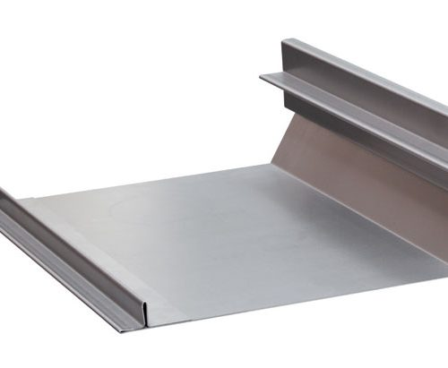 Photos of folding the thin materials and folding a thin plate of steel